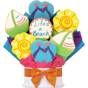 Beach Cookie Bouquet
