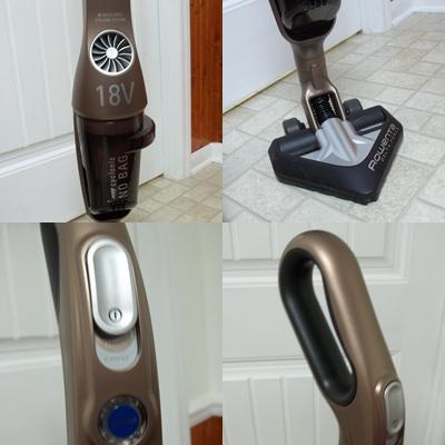 Rowenta Cordless Bagless 18 Volt Stick Vacuum Cleaner