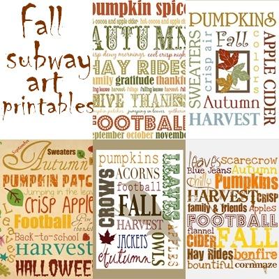 15+ Autumn Subway Art PNG