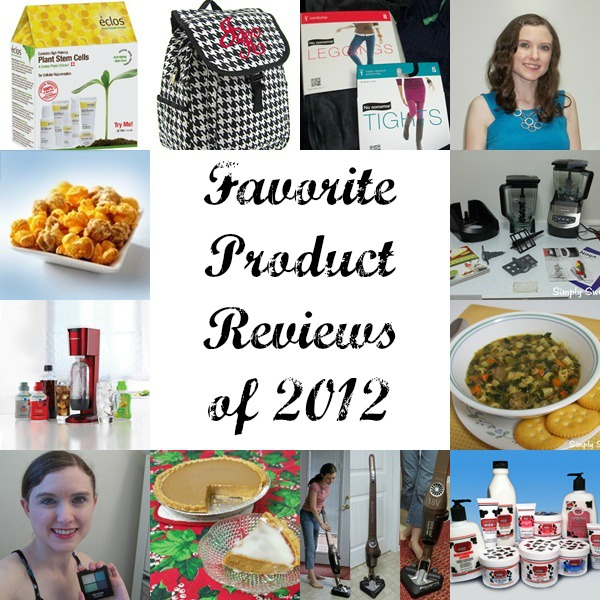 Favorite Product Reviews of 2012