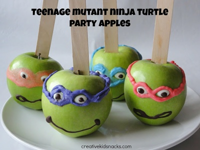 TMNT Apple Treats