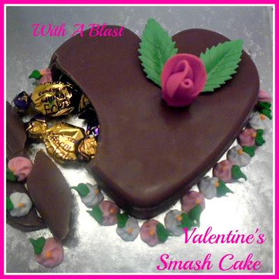 Valentine's Smash Cake