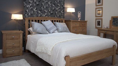 Epic Another kind of bed they have is the arched bed frame I like this style for its simplicity And I think it looks great in natural wood color seen here