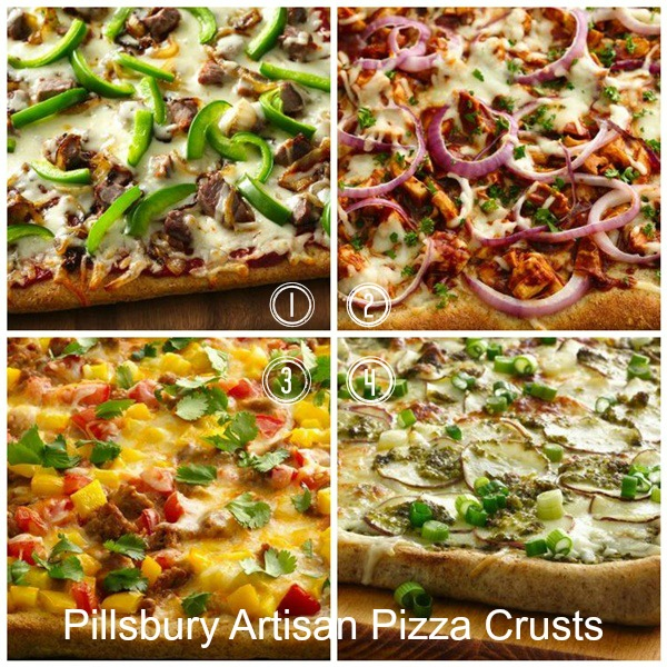 Pillsbury Artisan Pizza Crust Giveaway - Simply Sweet Home