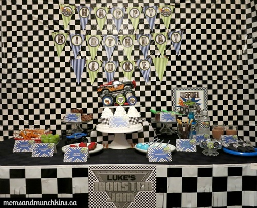 Monster Truck Birthday