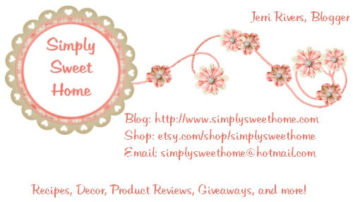 Designing Business Cards For Your Blog Simply Sweet Home