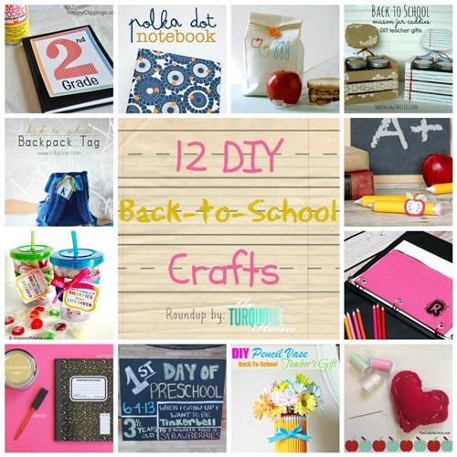DIY Back To School Projects