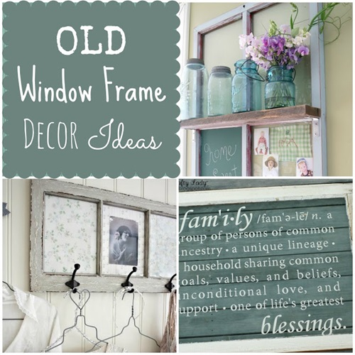 ideas using old window frames car interior design