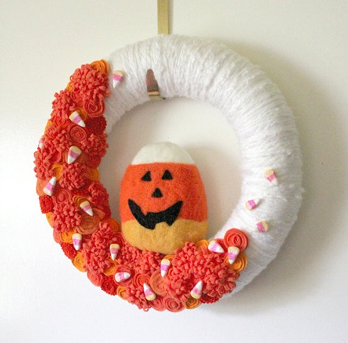 Fall-Halloween Wreath 5
