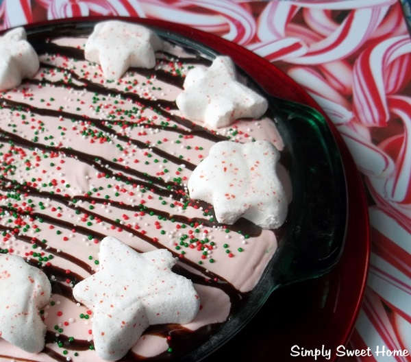 Frozen Black Bottom Peppermint Pie Recipe — Dishmaps