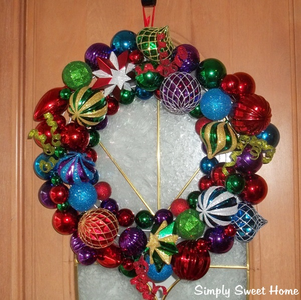 ornament wreath giveaway from cvspharmacy