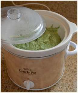 Spinach Dip in Crock Pot