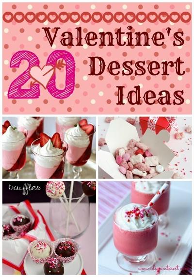 20 Valentine's Day Desserts
