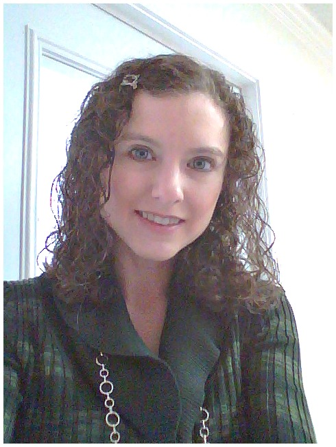 Here S A Photo I Took On Christmas Eve With My Hair Freshly Washed And Curled After Using The Herbal Essences Collection