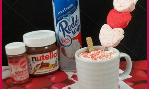 Nutella Hot Chocolate with Ingredients