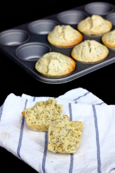 Orange Chia Seed Muffins