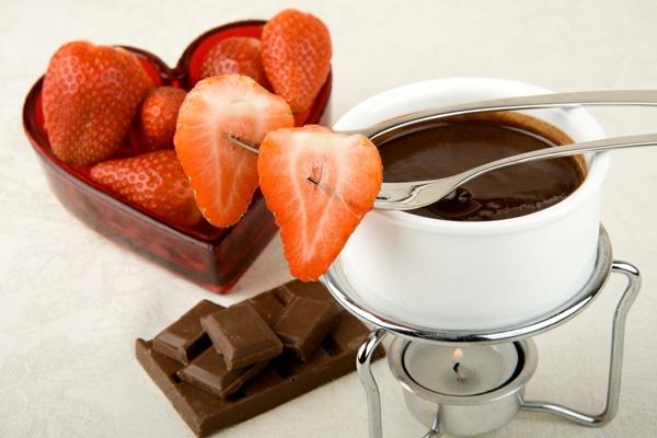 Chocolate Rum Fondue