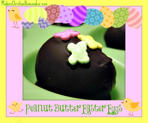 Peanut Butter Easter Eggs from Modern Christian Homemaker