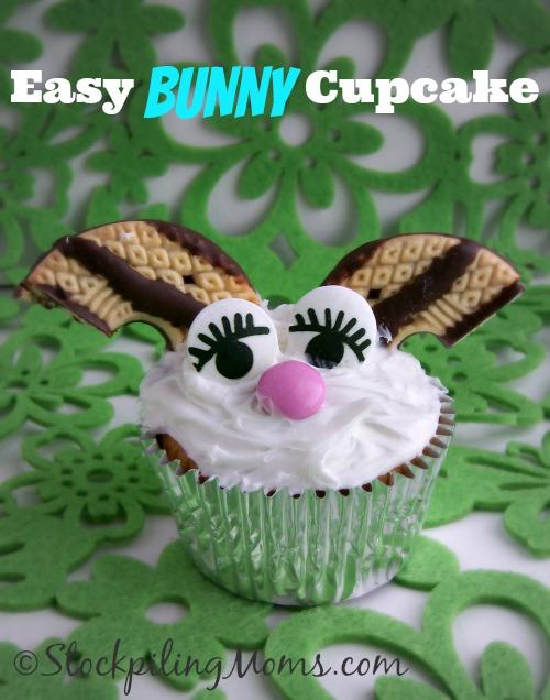 Easy Bunny Cupcake