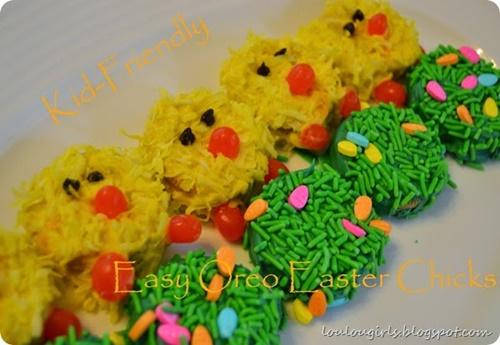 Oreo Easter Chicks