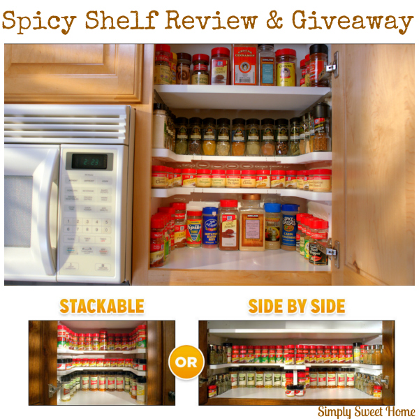 Spicy Shelf Review and Giveaway