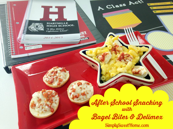 After School Snacking with Bagel Bites and Delimex