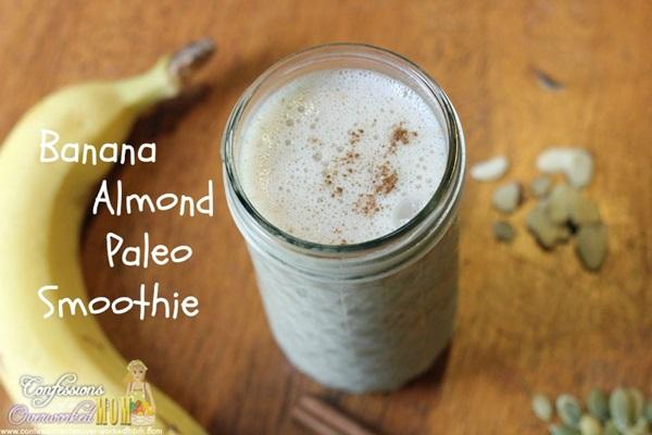 Banana Almond Paleo Smoothie