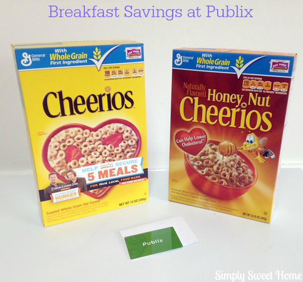 breakfast savings at publix