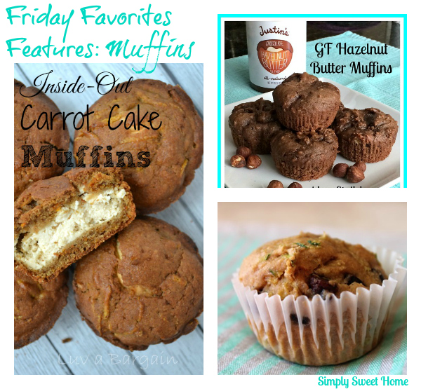 Friday Favorites Features Muffins