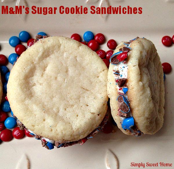 MM Sugar Cookie Sandwiches