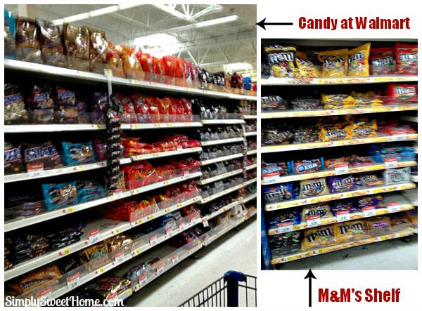 MMs at Walmart