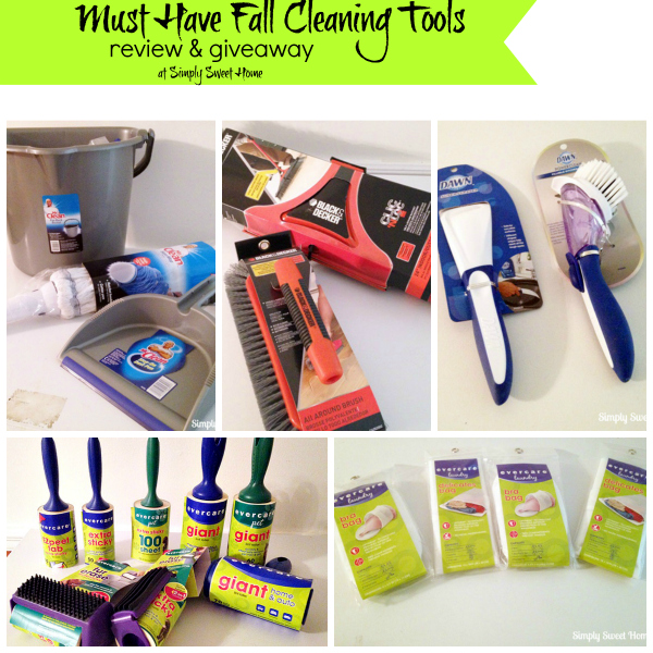 Must Have Fall Cleaning Tools