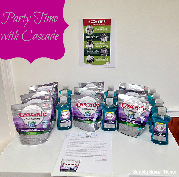 party time with cascade and a giveaway