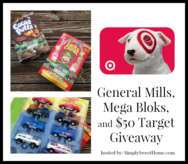 General Mills, Mega Bloks, and Target Giveaway