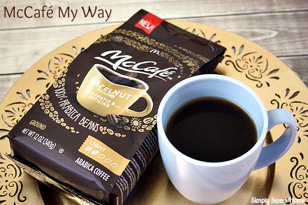 McCafe Hazelnut Coffee