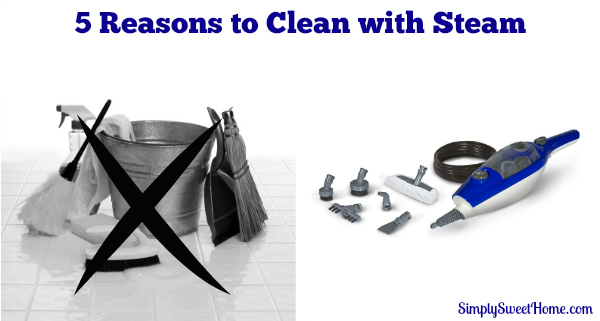 5 Reasons to Clean with Steam