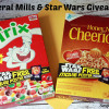 General Mills and Star Wars Giveaway