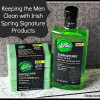 Keeping the Men Clean with Irish Spring