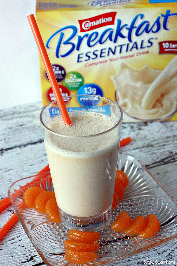 how to make orange julius drink