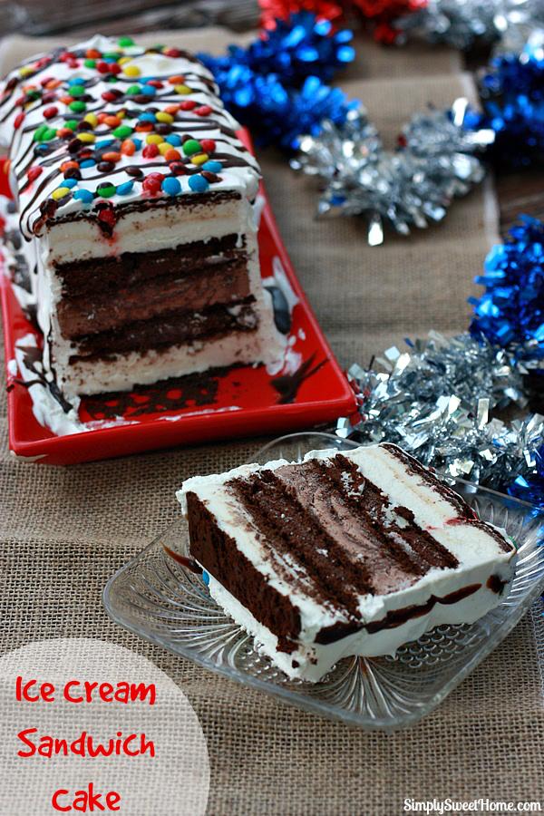Ice Cream Sandwich Cake Images : Ice Cream Sandwich Cake - Simply Sweet Home