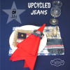 Patriotic Upcycle Jeans