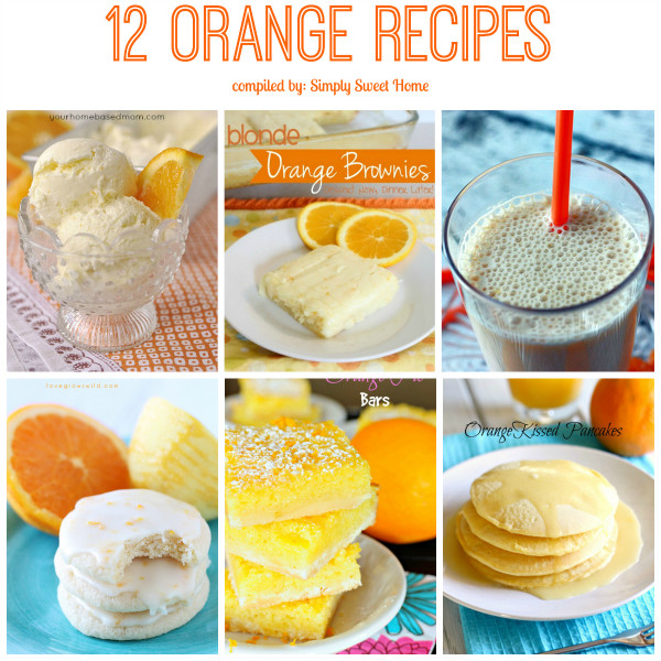 12 Orange Recipes
