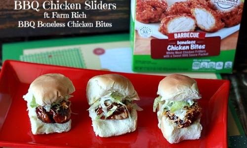 BBQ Chicken Sliders with Farm Rich