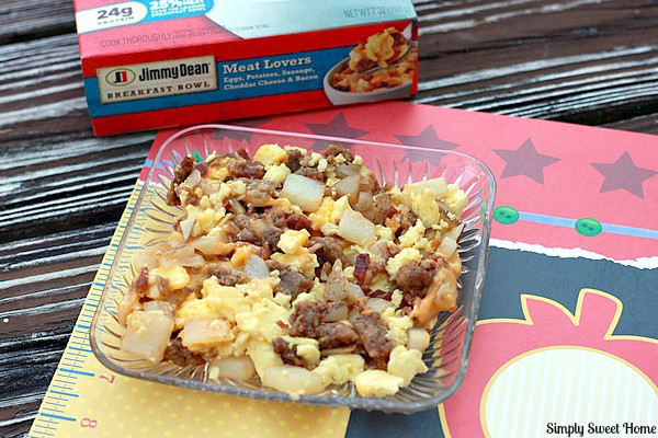 Back to School Breakfast with Jimmy Dean - Simply Sweet Home