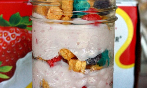 Yogurt and Cereal Breakfast Parfait