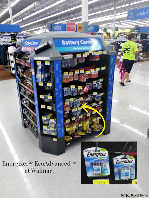 You Can Find Energizer® EcoAdvanced™ At A Number Of Retailers, Including  Walmart. I Always Find My Batteries Near The Front Of Our Walmart, ...