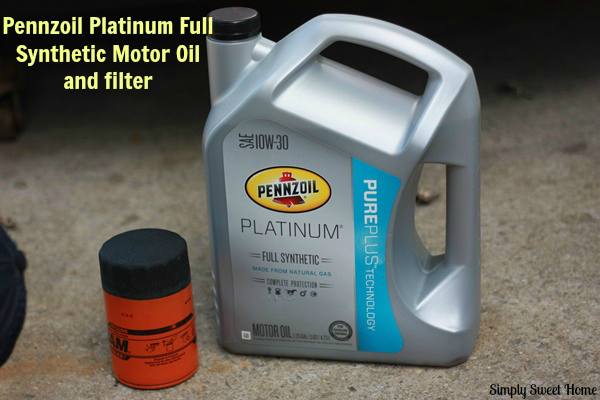 Diy Oil Change With Pennzoil Simply Sweet Home
