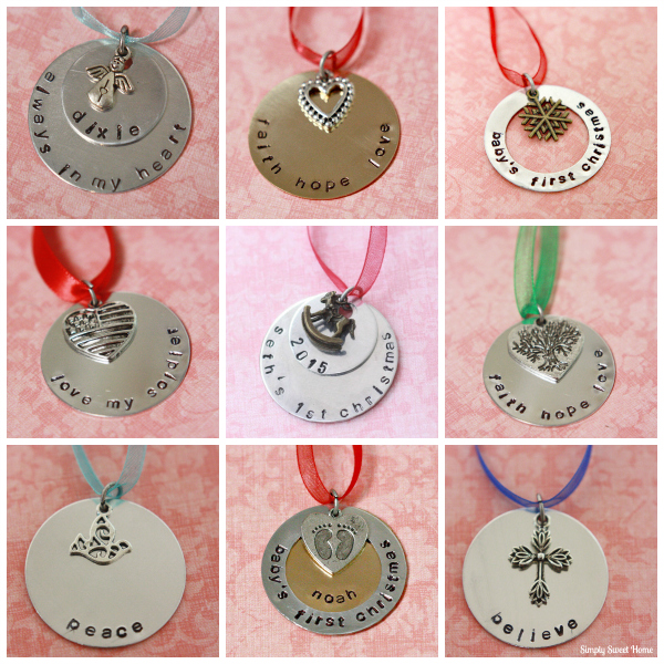 Simply Sweet Creations Ornaments
