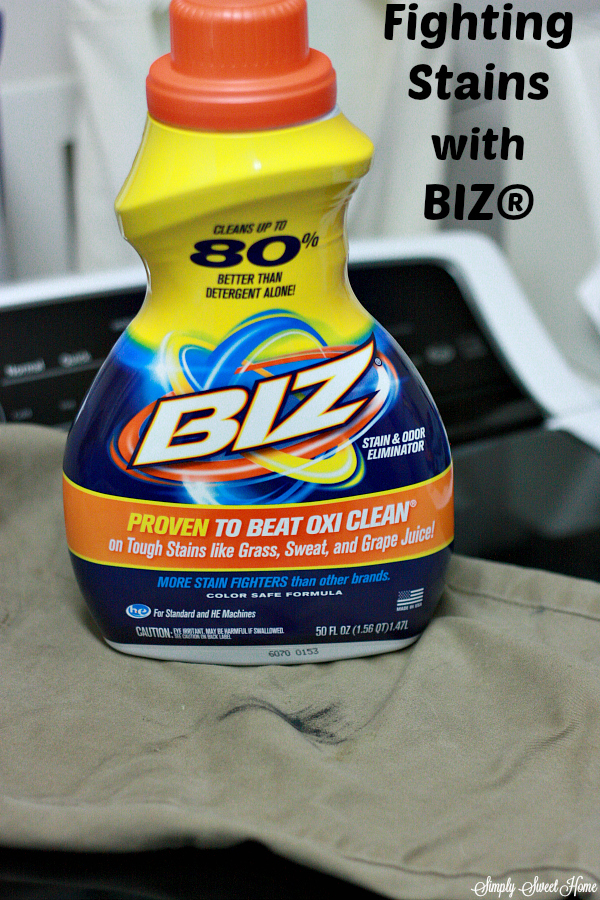 Fighting Stains with BIZ