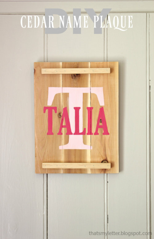 diy-cedar-name-plaque
